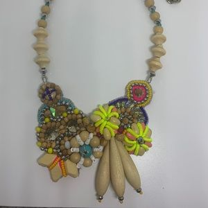 Light wood /Spring Megan Park Necklace
